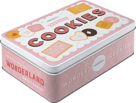 Postershop Plechová dóza Wonder Cookies