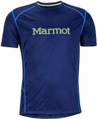 Marmot koszulka sportowa Windridge with Graphic SS Arctic Navy/Hyper Yellow