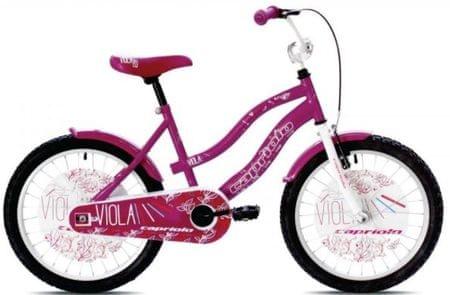 Capriolo otroško kolo BMX Viola 20'', pink-vijolična
