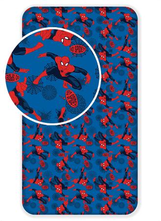 Jerry Fabrics Bavlnené prestieradlo Spiderman 2017 90x200 cm