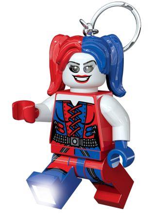 LEGO DC Super Heroes Harley Quinn brelok/latarka