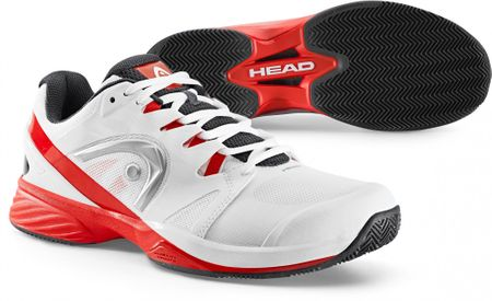 Head Nitro Pro Clay Men White/Red 41,0