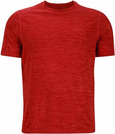 Marmot Ridgeline SS Retro Red Heather XXL