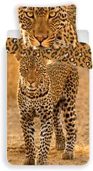 Jerry Fabrics posteljnina Leopard