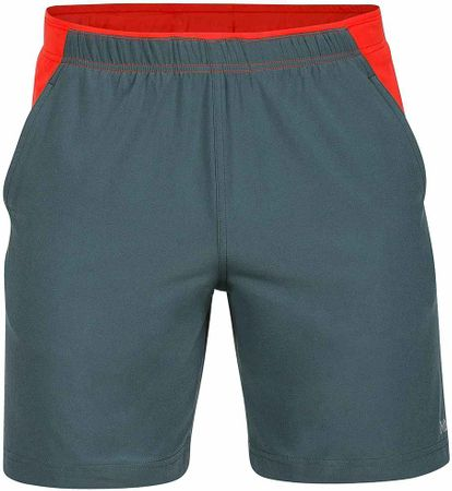 Marmot moške hlače Regulator Short, sive/rdeče, L