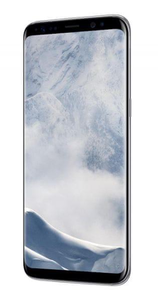 Samsung Galaxy S8, Arctic Silver + cashback 3000 Kč