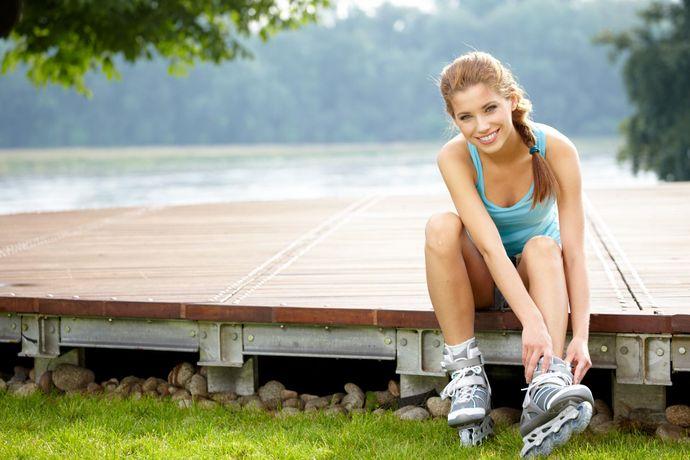 Za rekreativno uporabo vam bodo zadostovali cenejše fitnes rolerje