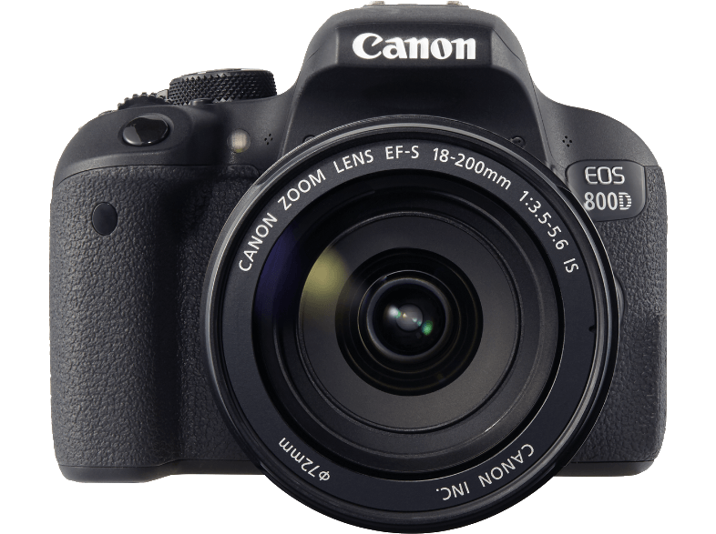 Canon EOS 800D + 18-200 IS