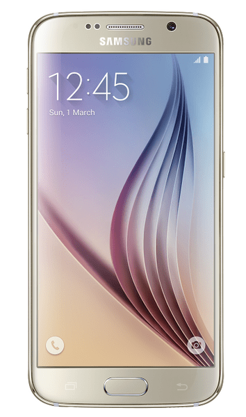 Samsung Galaxy S6, Edge, 32 GB, zlatá - II. jakost