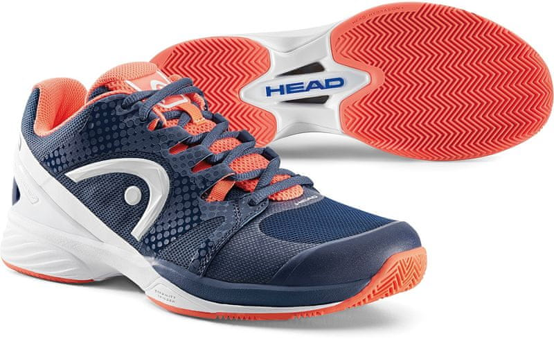 Head Nitro Pro Clay W Raven Navy/Coral 39,0