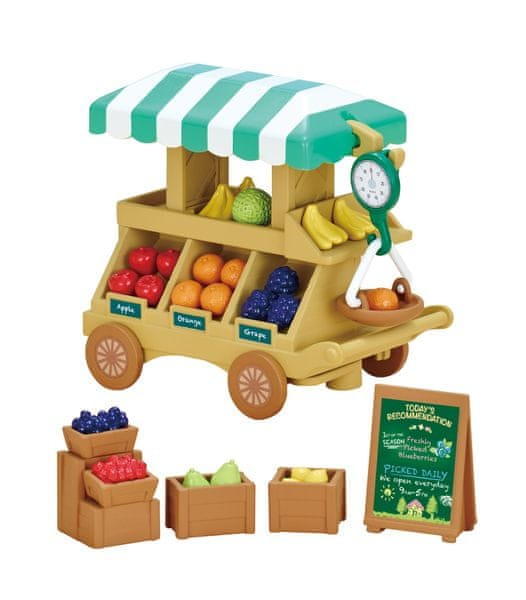 Sylvanian Families Pojízdná prodejna ovoce a zeleniny