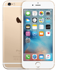 Apple iPhone 6S Plus, 128 GB, zlat