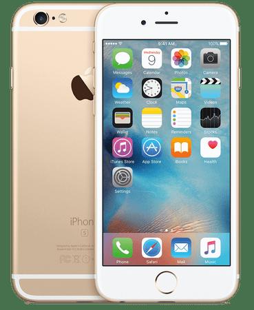 Apple iPhone 6S Plus, 128 GB, zlat