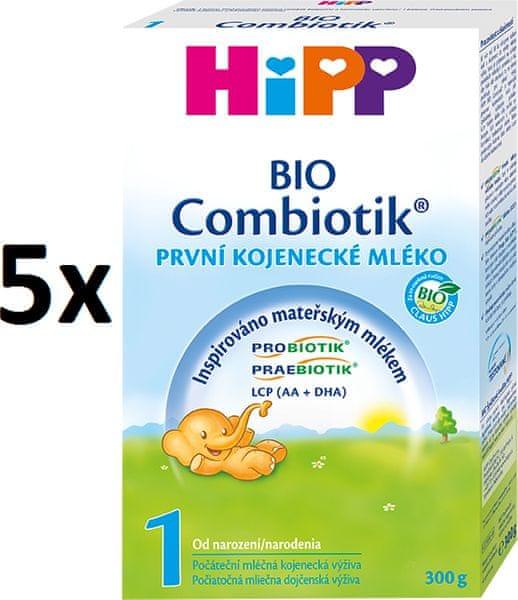 HiPP 1 BIO Combiotic - 5 x 300g