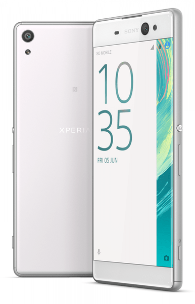 Sony Xperia XA Ultra, Bílá