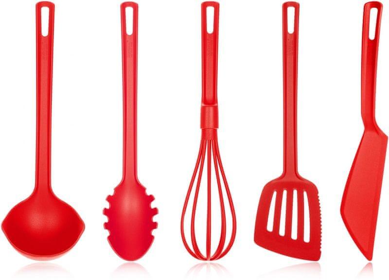 Banquet Sada kuchyňského náčiní CULINARIA 5 ks červená