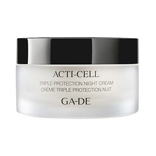 GA-DE Hydratační a zklidňující noční krém s detoxikačním účinkem (Acti-Cell Triple Protection Night Cream)