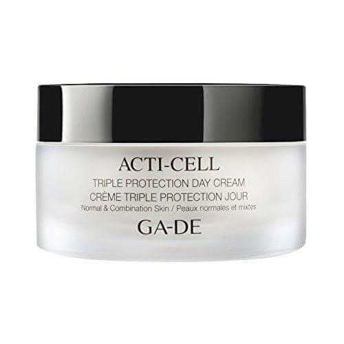 GA-DE Hydratační a zklidňující denní krém pro normální a smíšenou pleť s detoxikačním účinkem (Acti-Cell T