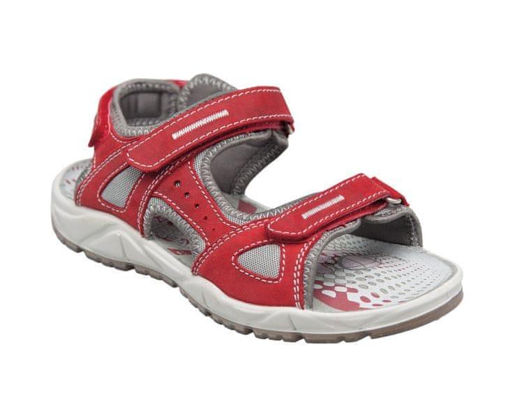 SANTÉ Zdravotní obuv dámská OR/64802 rosso (Velikost vel. 40)