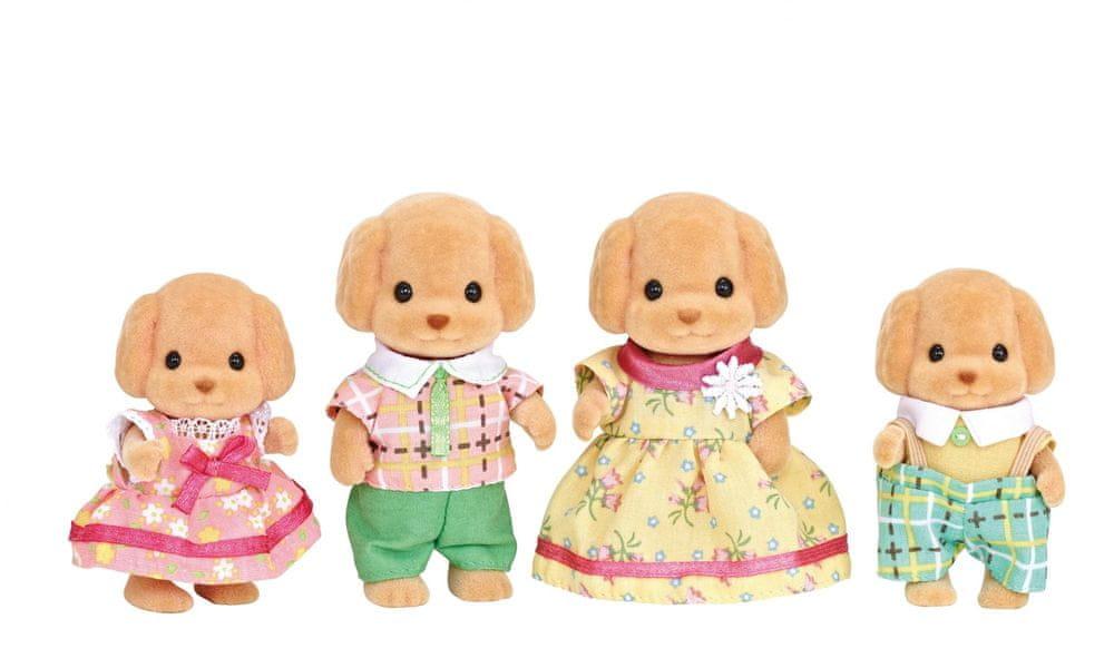 Sylvanian Families Rodina pudlů