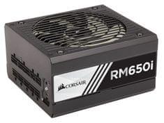 Corsair modularni ATX napajalnik RM750i, 650W, 80Plus Gold