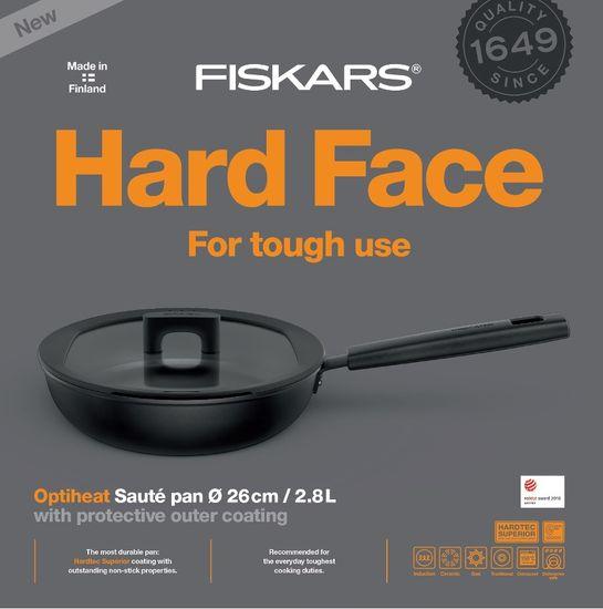 Fiskars Rendlik Hard Face ponev, 26 cm