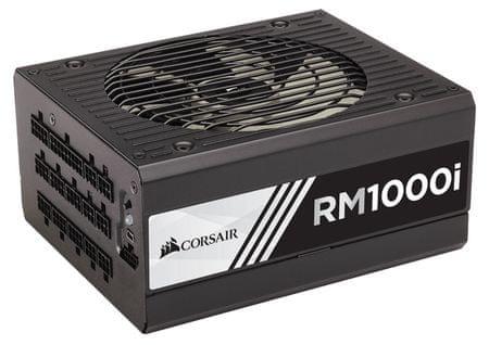 Corsair modularni ATX napajalnik RM1000i, 1000W, 80Plus Gold