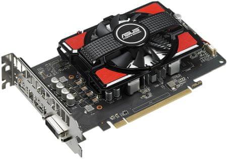 Asus Radeon RX 550, 4GB GDDR5, PCI-E 3.0