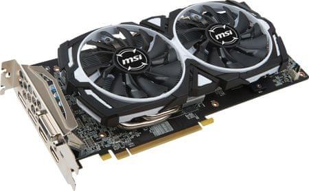 MSI grafična kartica Radeon RX 580 ARMOR OC 4GB GDDR5 (RX 580 ARMOR 4G OC)