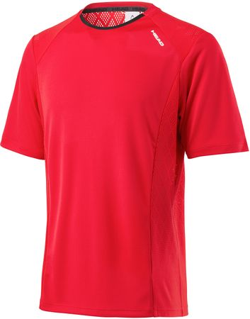 Head Performance Crew Shirt M Red XXL