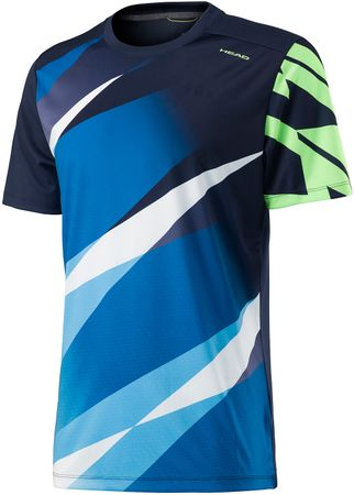 Head koszulka sportowa Vision Graphic Shirt M Navy XXL