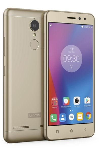 Lenovo K6 Power, Dual SIM, Gold