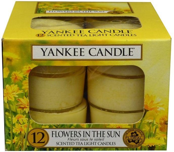 Yankee Candle Čajové svíčky Flowers In The Sun 12x 9,8 g