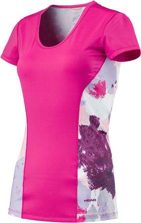 Head športna majica Vision Graphic, roza, XS