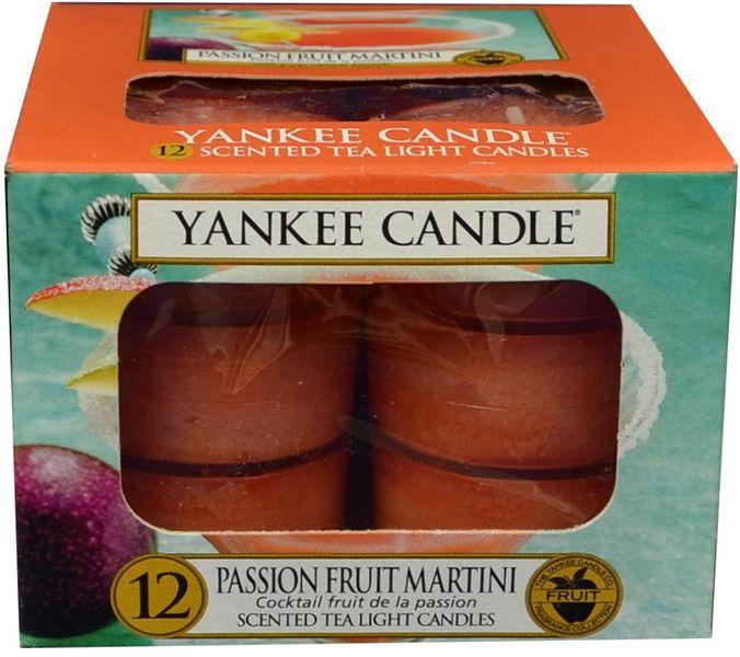 Yankee Candle Čajové svíčky Passion Fruit Martini 12x 9,8 g