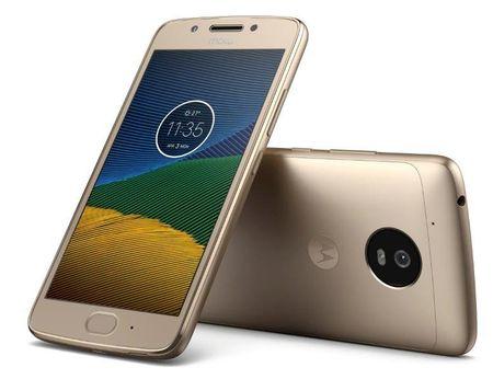 MOTOROLA Moto G5 mobiltelefon, Arany
