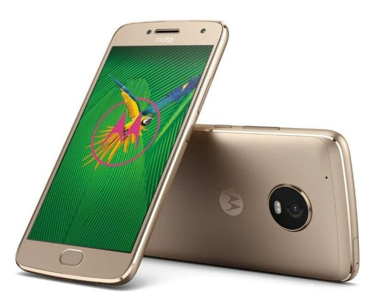Motorola Moto G5 Plus, 3GB/32GB, Gold