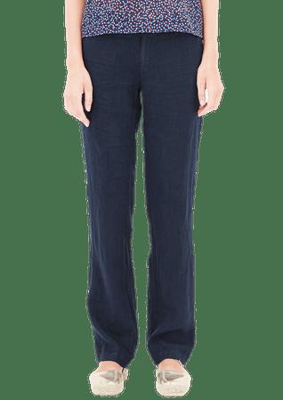 s.Oliver dámské kalhoty 40/32 tmavě modrá