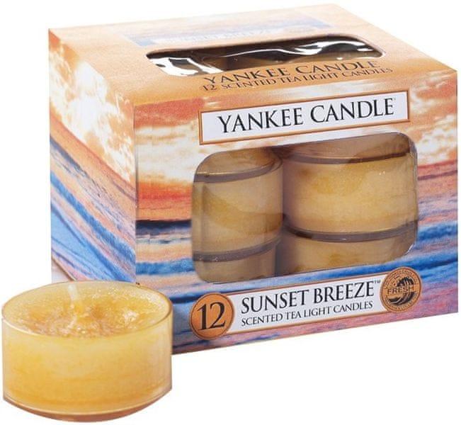 Yankee Candle Čajové svíčky Sunset Breeze 12x 9,8 g
