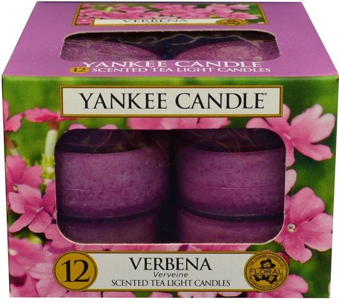 Yankee Candle Čajové svíčky Verbena 12x 9,8 g