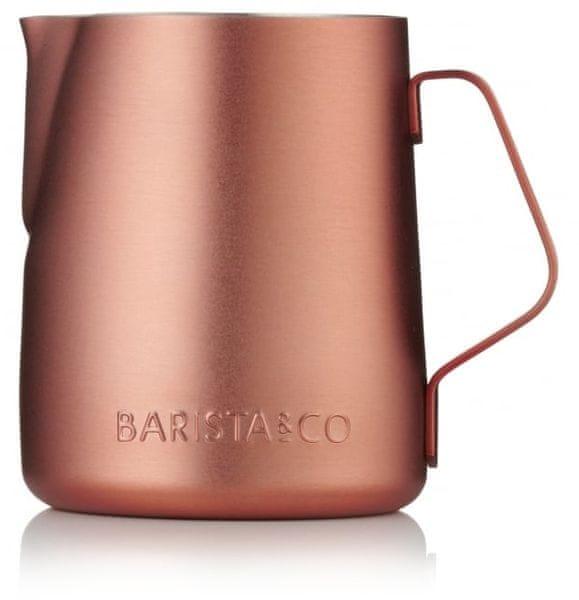 BARISTA&CO konvička na mléko 350 ml Copper měď
