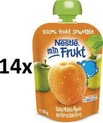 Nestlé Min Frukt Meruňka 14x90g