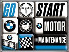 Postershop Sada magnetů BMW 3