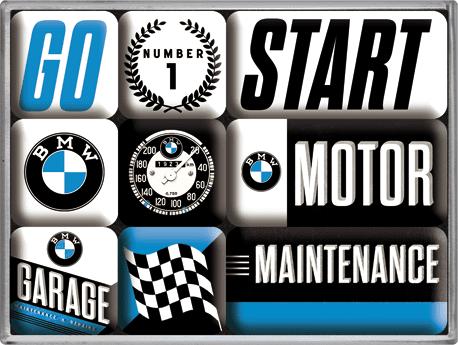 Postershop set magnetov BMW 3
