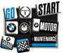 2 - Postershop set magnetov BMW 3