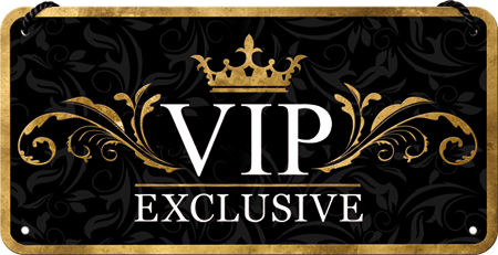 Postershop okrasna tabla VIP Exclusive