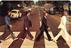 Postershop Blaszany znaczek Beatles Abbey Road