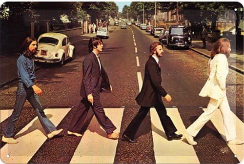 Postershop pločevinasta tabla Beatles Abbey Road