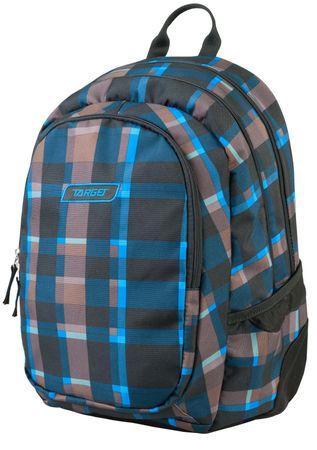 Target nahrbtnik 3 Zip Allover Blue Square 21429