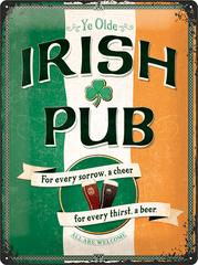Postershop Metalowa tabliczka Irish Pub